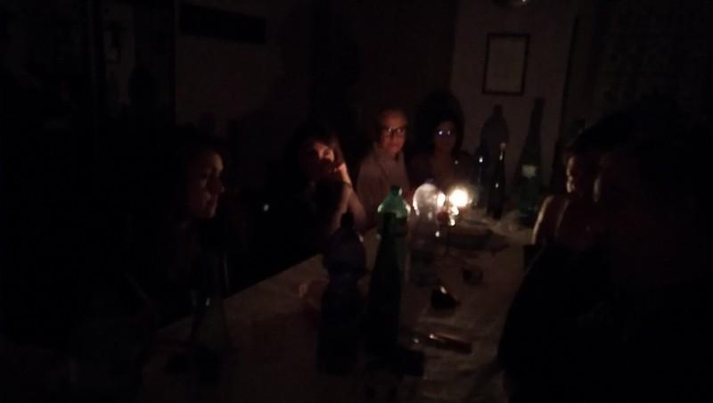 Prima Cena al Buio UNITALSI Ivrea